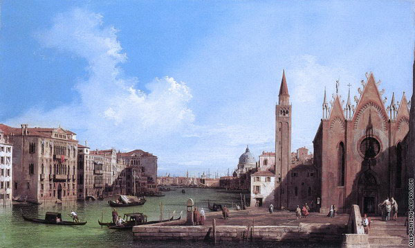 Grand Canal from La Giorgia to the Basin of San Marco (Canaletto)
