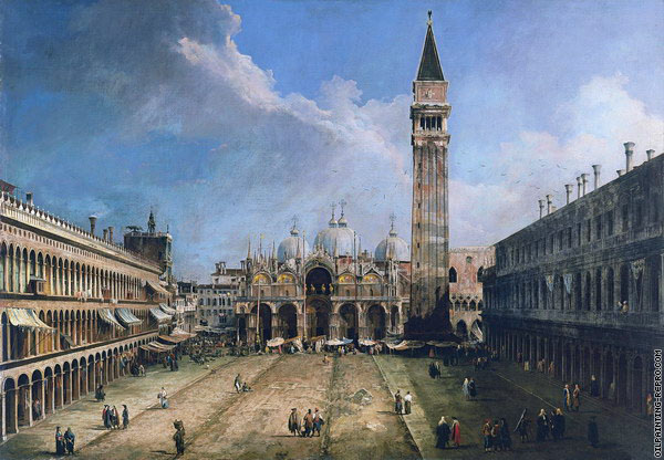 View of Saint Mark's Square 4 (Canaletto)