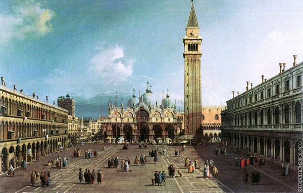 View of Saint Mark's Square 1 (Canaletto)