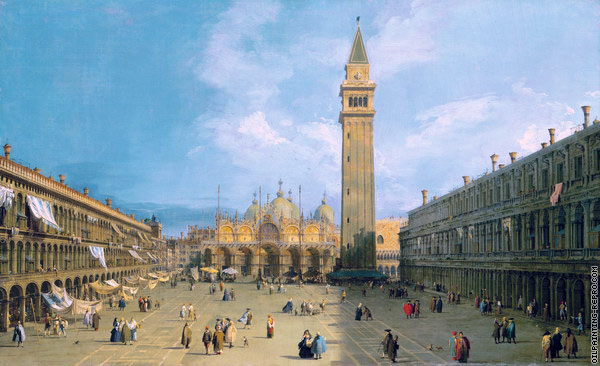 View of Saint Mark's Square 2 (Canaletto)