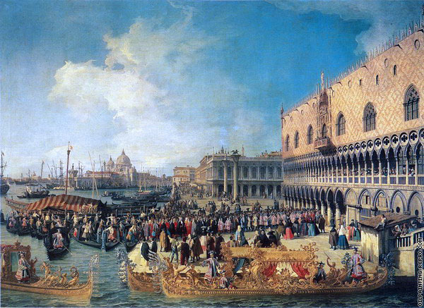 Reception of the Ambassador in the Doge's Palace (Canaletto)