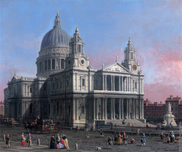 St Paul's Cathedral (Canaletto)