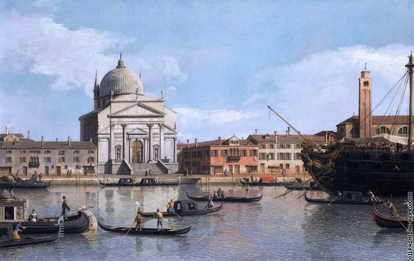 The Church of the Redentore - Venice (Canaletto)