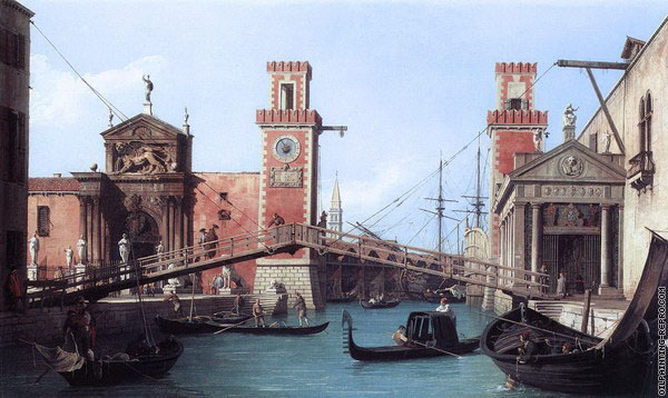 View of the Entrance to the Arsenal (Canaletto)
