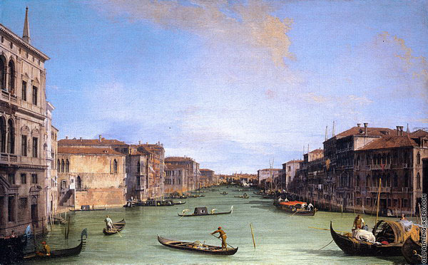 View of the Grand Canal (Canaletto)