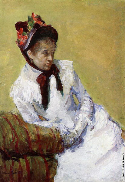 Portrait of The Artist (Cassatt)