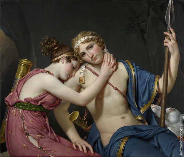 The Farewell of Telemachus and Eucharis (David)