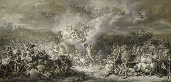 The Combat of Diomedes (David)