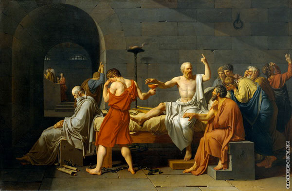 The Death of Socrates (David)
