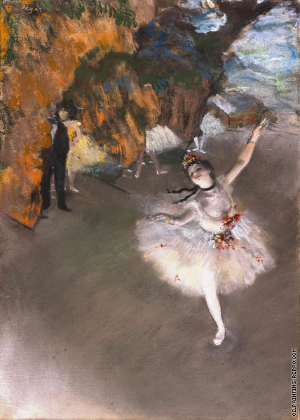 The first ballerina (Degas)