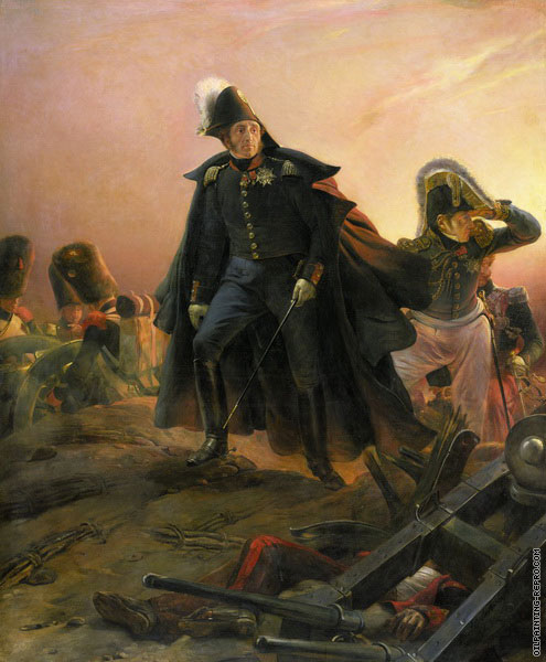 The Duke of Angoulême in the Battle of Trocadero (Delaroche)