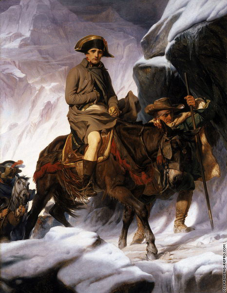 Napoleon Crossing the Alps (Delaroche)
