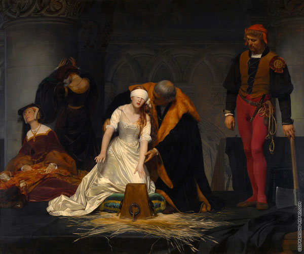 The Execution of Lady Jane Grey (Delaroche)