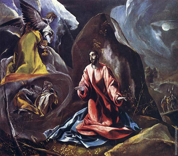 Agony in the Garden 1 (El Greco)