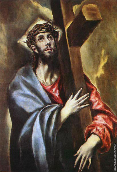 Christ carrying the cross (El Greco)