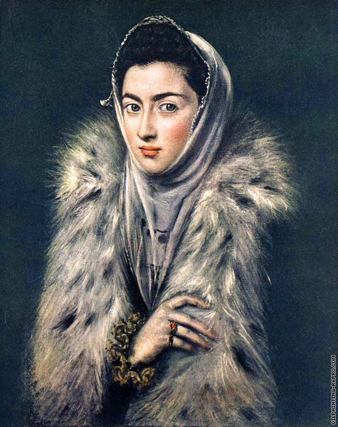 Lady with a Fur (El Greco)
