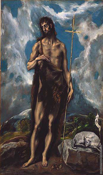 Saint John the Baptist (El Greco)
