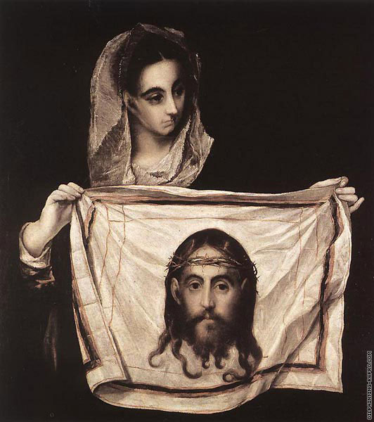 Saint Veronica with the Sudary (El Greco)