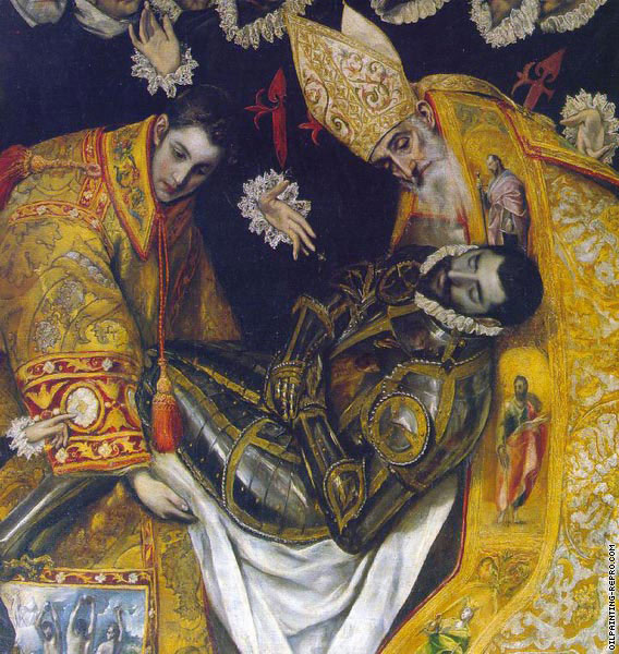 The Burial of Count Orgaz* (El Greco)