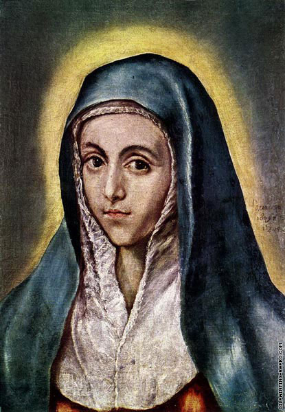 The Virgin Mary (El Greco)