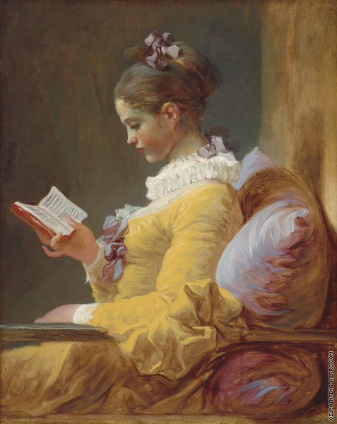 A young Reader (Fragonard)