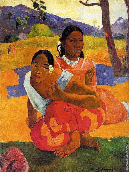 When you will marry? (Gauguin)