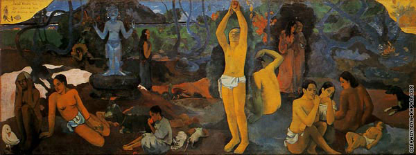 Where do we come from? What are we doing? Where are we going? (Gauguin)