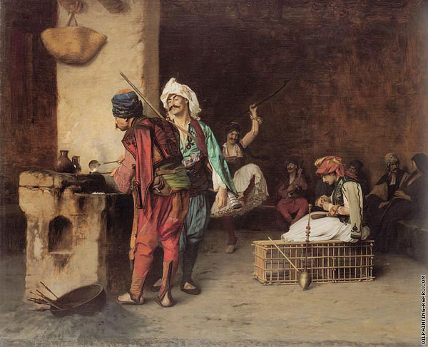 A Cafe in Cairo (Gerome)