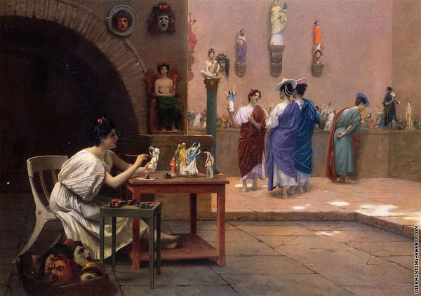 Workshop of Tanagra (Gerome)