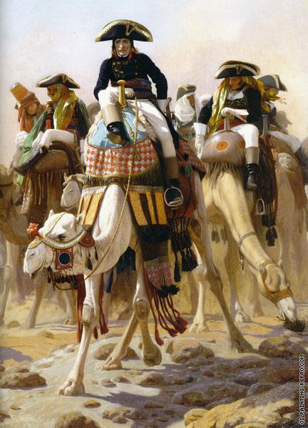 General Bonaparte with his Military Staffin Egypt (Gerome)