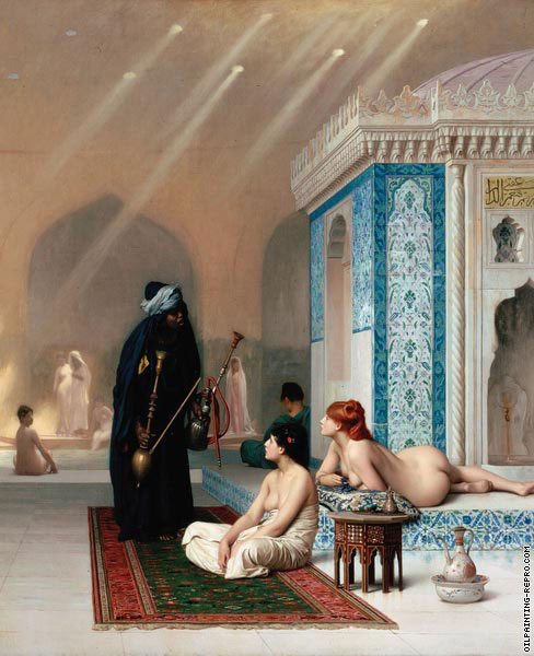Harem Pool (Gerome)