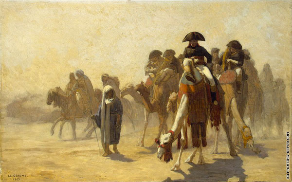 Napoleon during his Campaign in Egypt (Gerome)