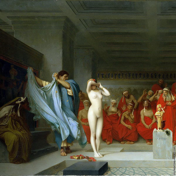 Phryne before the Areopagus* (Gerome)