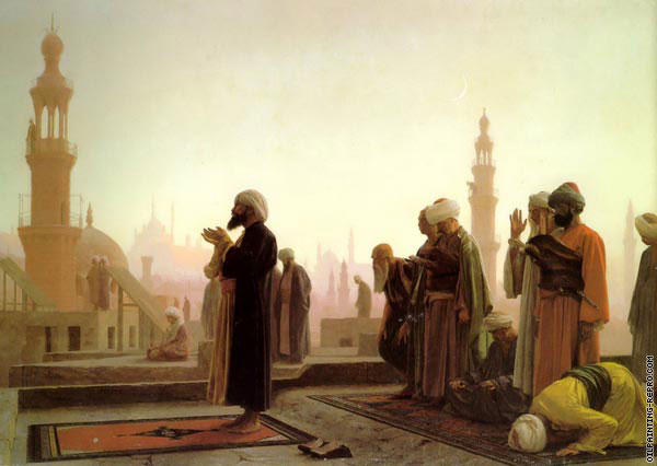 Prayer in Cairo (Gerome)