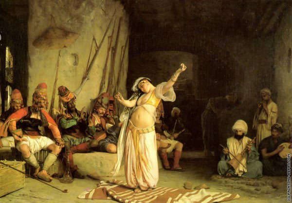 The dance of the Almeh (Gerome)