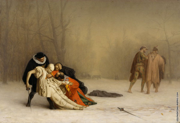 The Duel after the Masquerade (Gerome)