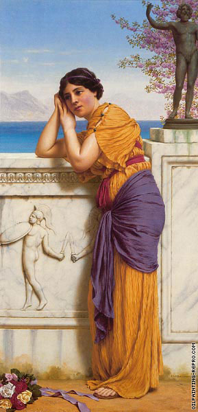 Rich gifts wax poor when lovers prove unkind (Godward)
