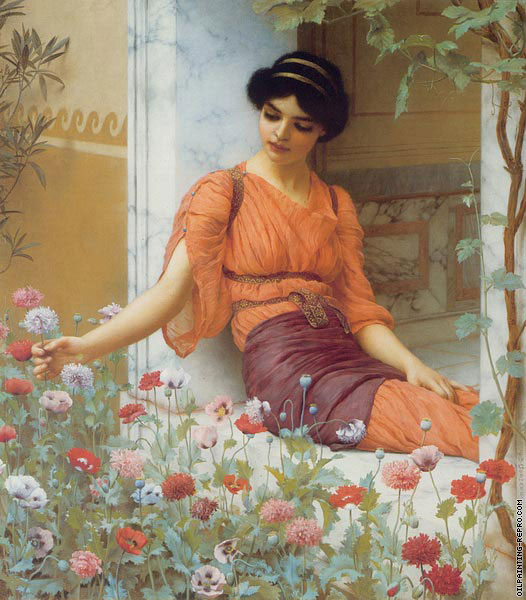 Summer Flowers (Godward)