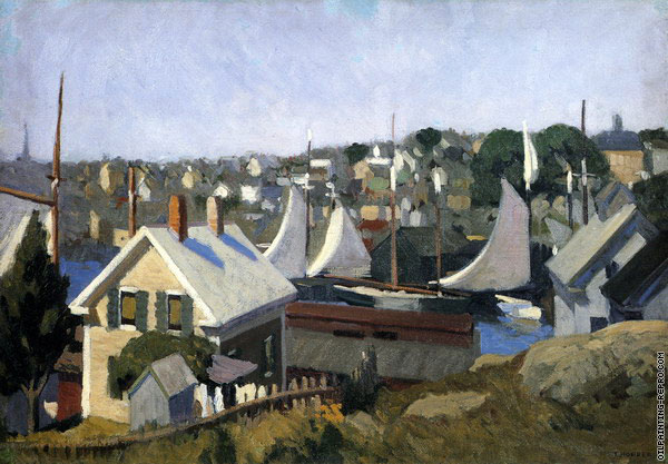 Gloucester Harbor (Hopper)