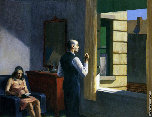 Hotel by the Railroad (Hopper)