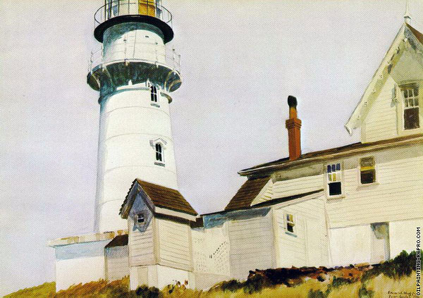 Light at Two Lights (Hopper)