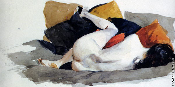Reclining Nude (Hopper)