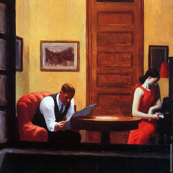 Room in New York* (Hopper)