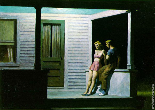 Summer Evening (Hopper)