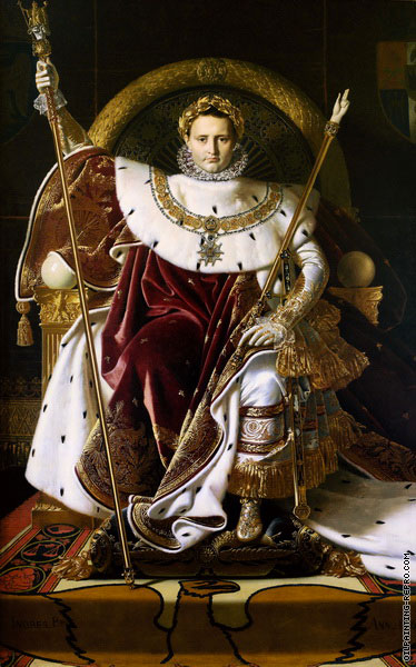 Napoleon I on His Imperial Throne (Ingres)
