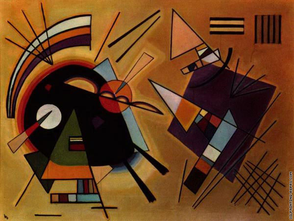 Black and Violet (Kandinsky)