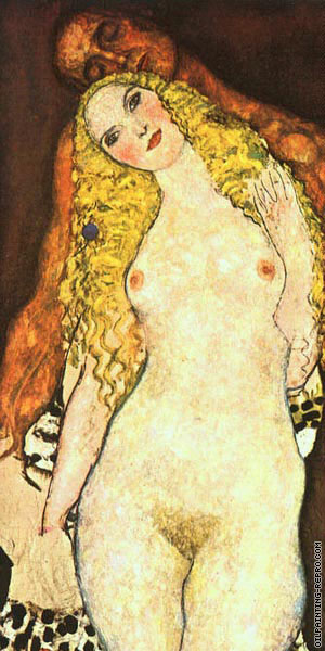 Adam and Eve (Klimt)