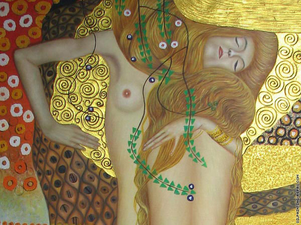 Water Serpents* (Klimt)