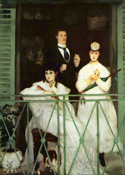 The balcony (Manet)
