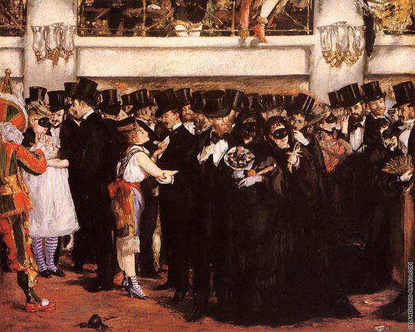 Masked Ball at the Opera (Manet)